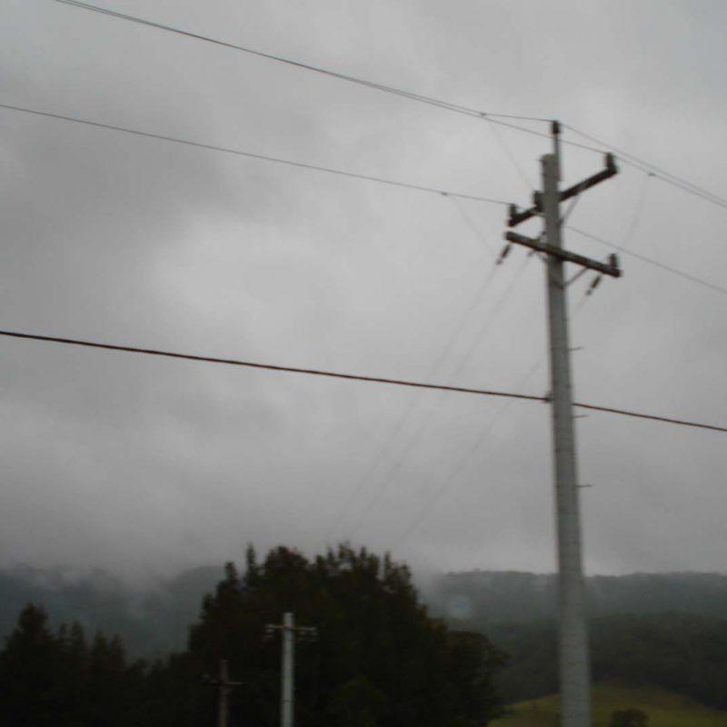6 Kangaroo Valley Pole wiring complete